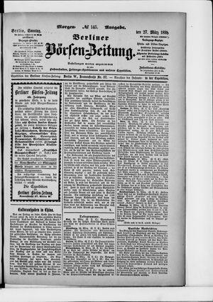 Berliner Börsen-Zeitung vom 27.03.1898