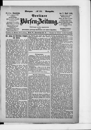 Berliner Börsen-Zeitung vom 02.04.1898