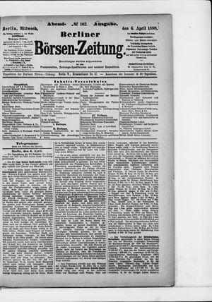 Berliner Börsen-Zeitung vom 06.04.1898
