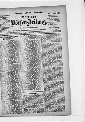Berliner Börsen-Zeitung vom 07.04.1898
