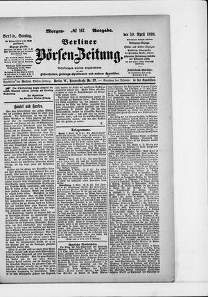 Berliner Börsen-Zeitung vom 10.04.1898