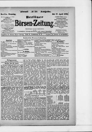 Berliner Börsen-Zeitung vom 12.04.1898