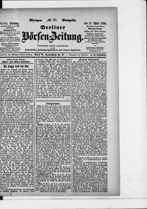Berliner Börsen-Zeitung vom 17.04.1898