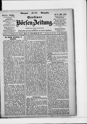 Berliner Börsen-Zeitung vom 03.05.1898