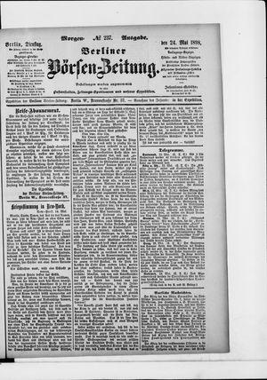 Berliner Börsen-Zeitung vom 24.05.1898