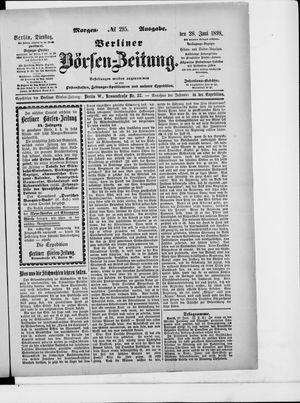 Berliner Börsen-Zeitung vom 28.06.1898