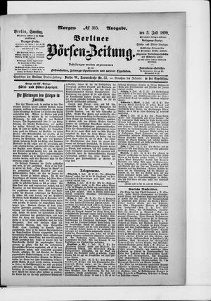Berliner Börsen-Zeitung on Jul 3, 1898