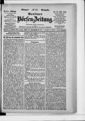 Berliner Börsen-Zeitung on Jul 13, 1898