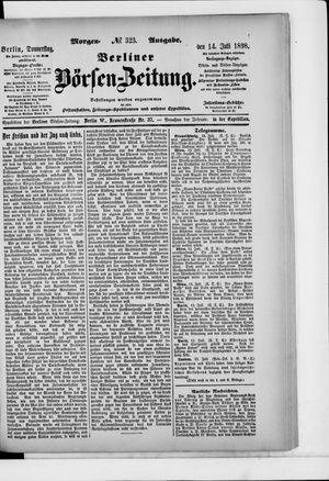 Berliner Börsen-Zeitung vom 14.07.1898