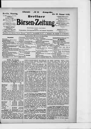 Berliner Börsen-Zeitung vom 10.01.1899
