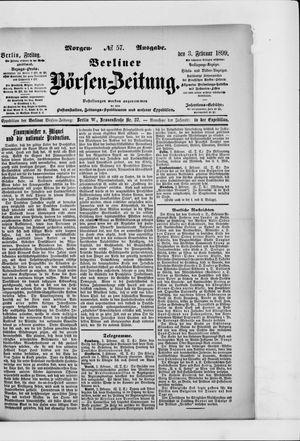 Berliner Börsen-Zeitung vom 03.02.1899