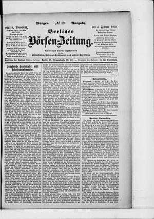 Berliner Börsen-Zeitung vom 04.02.1899