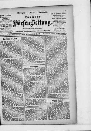 Berliner Börsen-Zeitung vom 07.02.1899