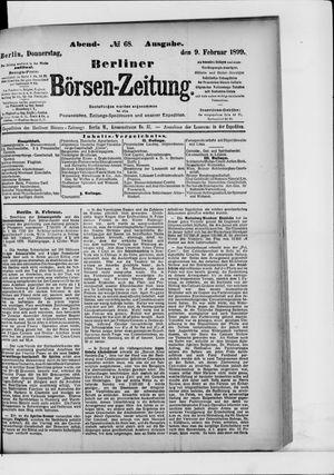 Berliner Börsen-Zeitung vom 09.02.1899