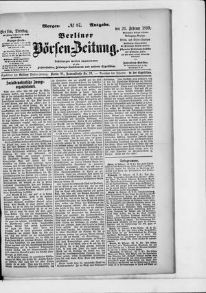Berliner Börsen-Zeitung vom 21.02.1899