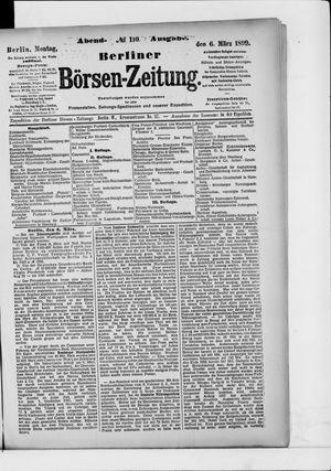 Berliner Börsen-Zeitung on Mar 6, 1899