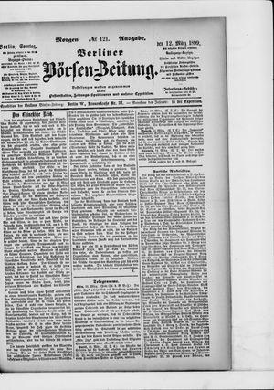 Berliner Börsen-Zeitung vom 12.03.1899
