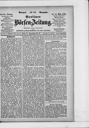 Berliner Börsen-Zeitung vom 14.03.1899