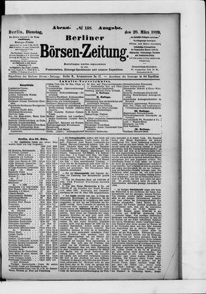 Berliner Börsen-Zeitung vom 28.03.1899
