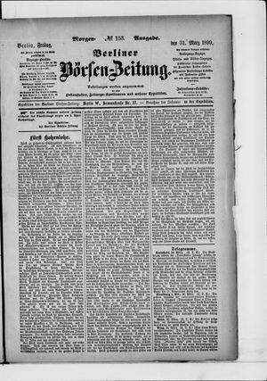 Berliner Börsen-Zeitung vom 31.03.1899
