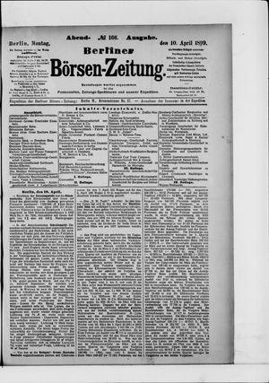 Berliner Börsen-Zeitung vom 10.04.1899