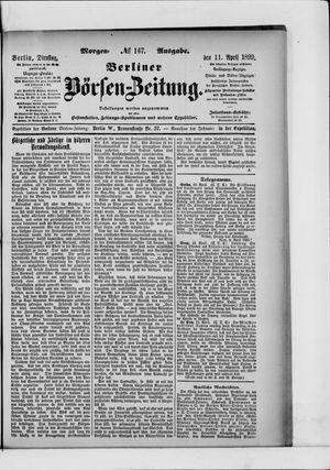 Berliner Börsen-Zeitung vom 11.04.1899