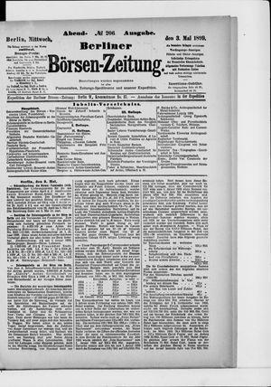 Berliner Börsen-Zeitung vom 03.05.1899
