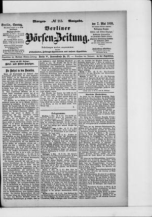 Berliner Börsen-Zeitung vom 07.05.1899