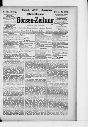 Berliner Börsen-Zeitung vom 15.05.1899