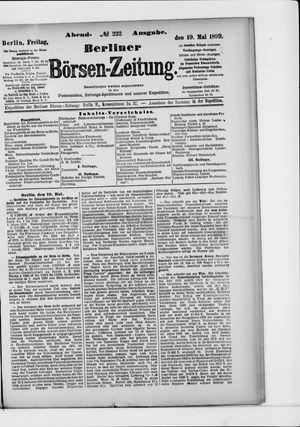 Berliner Börsen-Zeitung vom 19.05.1899