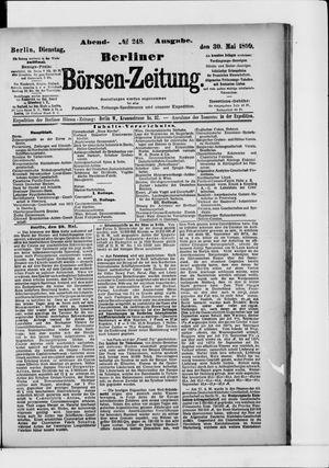 Berliner Börsen-Zeitung on May 30, 1899