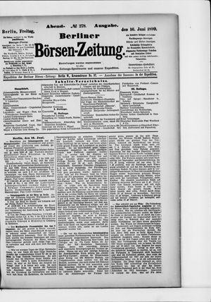 Berliner Börsen-Zeitung vom 16.06.1899
