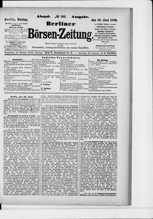 Berliner Börsen-Zeitung vom 19.06.1899