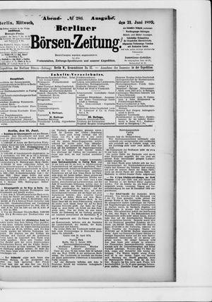 Berliner Börsen-Zeitung vom 22.06.1899