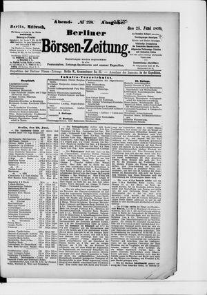 Berliner Börsen-Zeitung vom 28.06.1899