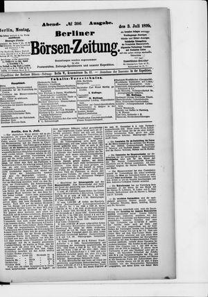 Berliner Börsen-Zeitung vom 03.07.1899