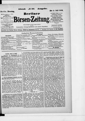 Berliner Börsen-Zeitung vom 04.07.1899