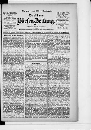 Berliner Börsen-Zeitung vom 06.07.1899