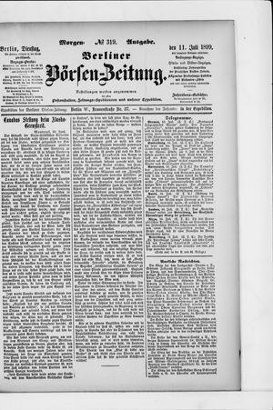 Berliner Börsen-Zeitung vom 11.07.1899