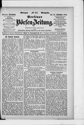 Berliner Börsen-Zeitung (16.09.1899)