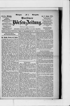 Berliner Börsen-Zeitung vom 03.01.1900