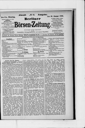 Berliner Börsen-Zeitung vom 16.01.1900