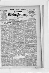 Berliner Börsen-Zeitung (18.01.1900)