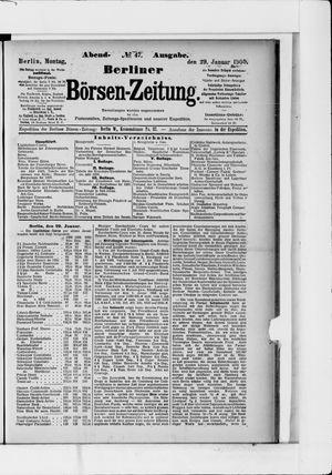 Berliner Börsen-Zeitung vom 29.01.1900
