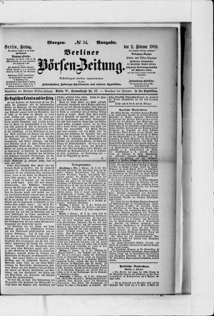 Berliner Börsen-Zeitung vom 02.02.1900