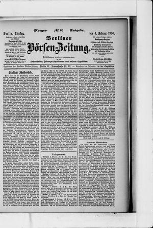 Berliner Börsen-Zeitung vom 06.02.1900