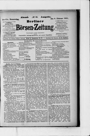 Berliner Börsen-Zeitung vom 08.02.1900