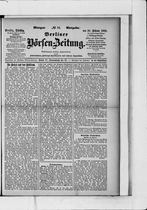 Berliner Börsen-Zeitung vom 20.02.1900