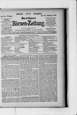 Berliner Börsen-Zeitung vom 23.02.1900
