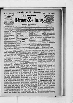 Berliner Börsen-Zeitung vom 02.03.1900
